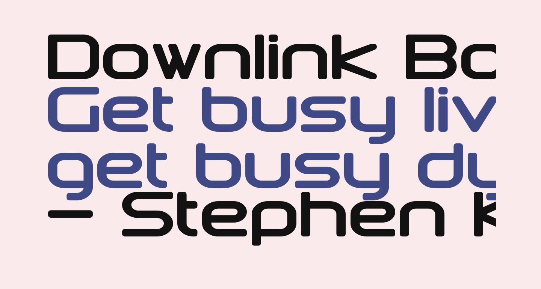 Downlink Bold