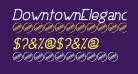 DowntownElegance-BoldItalic