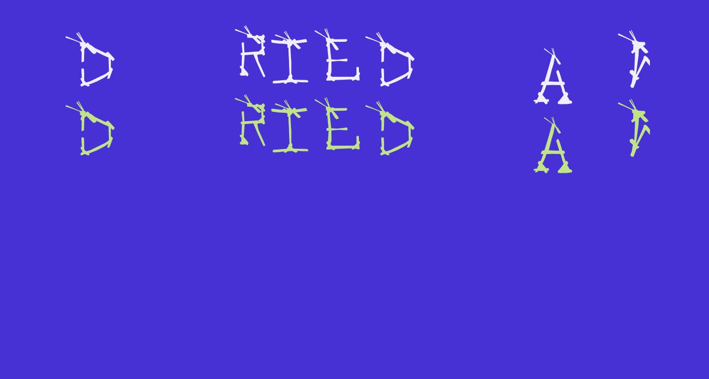 DRIED-WEEKS