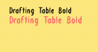 Drafting Table Bold