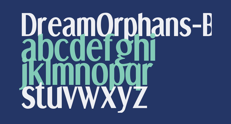 DreamOrphans-Bold