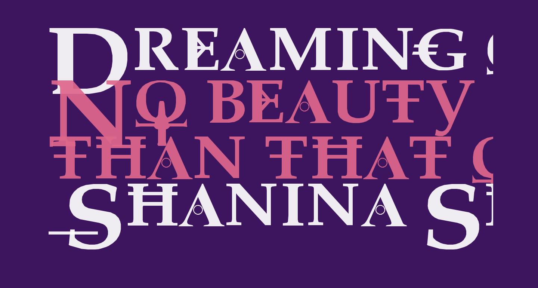 Dreaming of Lilian