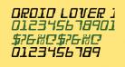 Droid Lover Italic