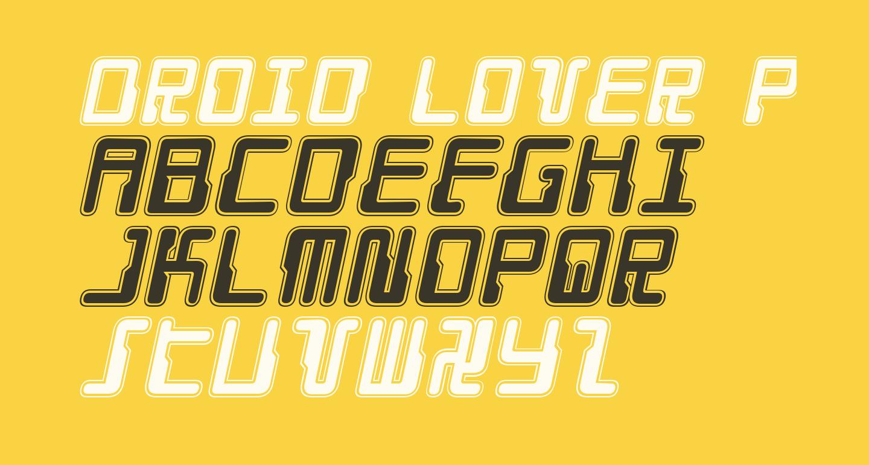 Droid Lover Pro Italic