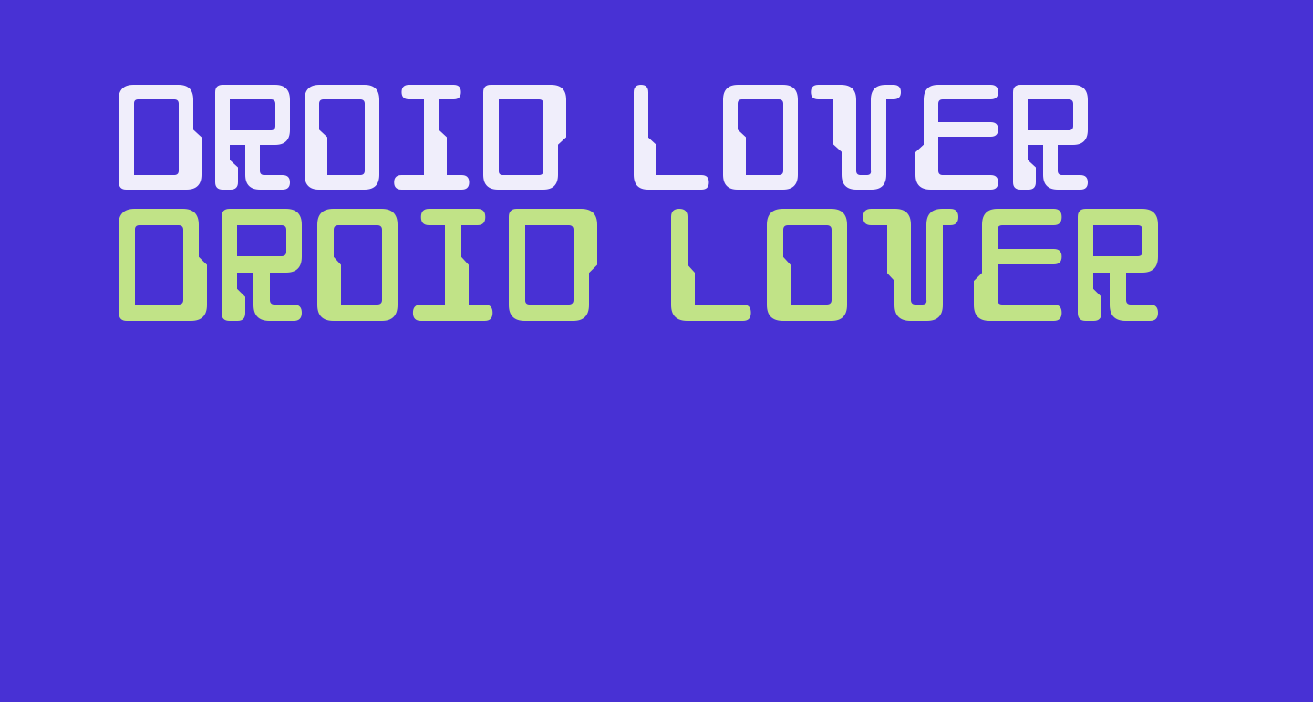 Droid Lover