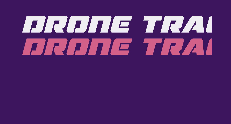 Drone Tracker Bold Italic