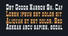 Dry Goods Narrow Sm. Caps JL