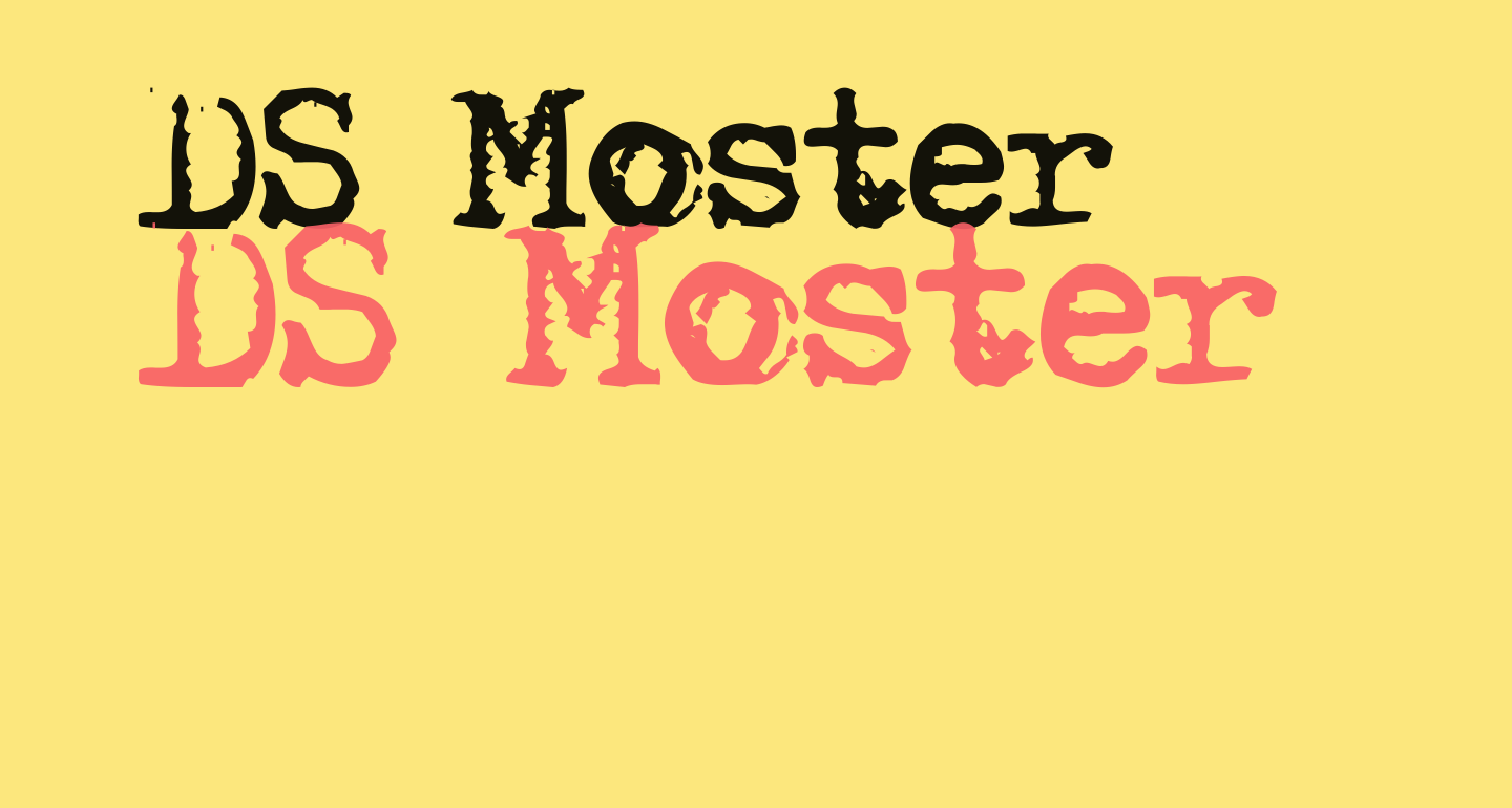 DS Moster