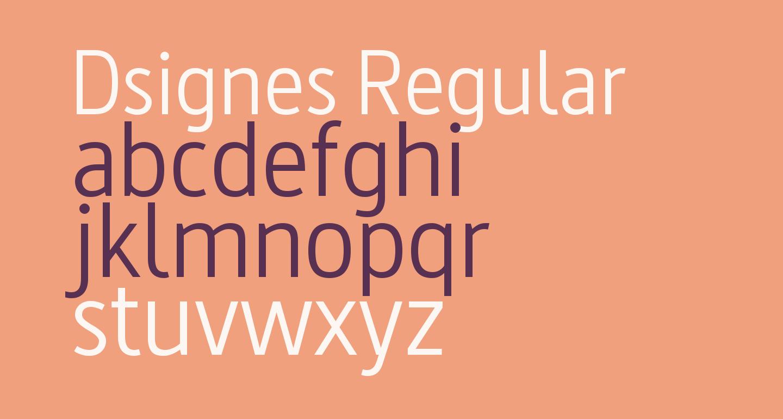 Dsignes Regular