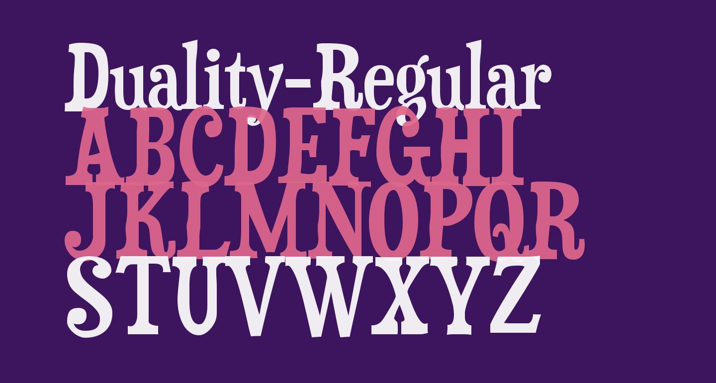 Duality-Regular