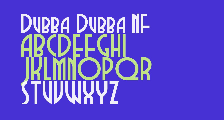 Dubba Dubba NF