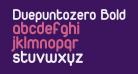 Duepuntozero Bold