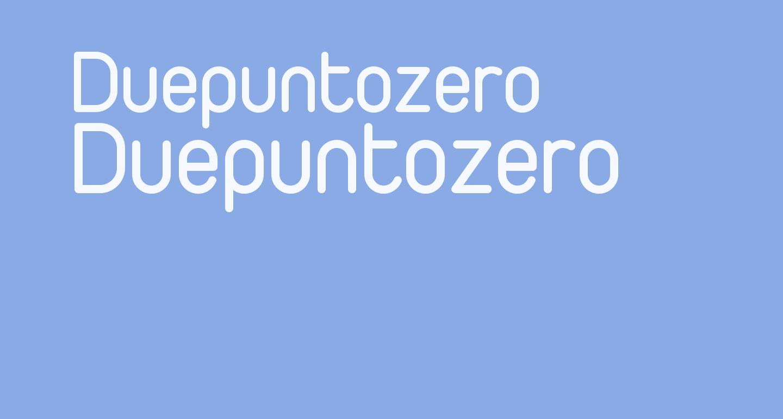 Duepuntozero