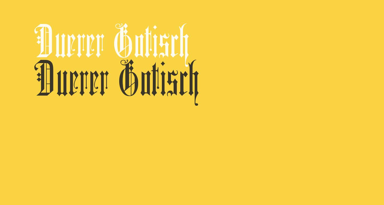 Duerer Gotisch
