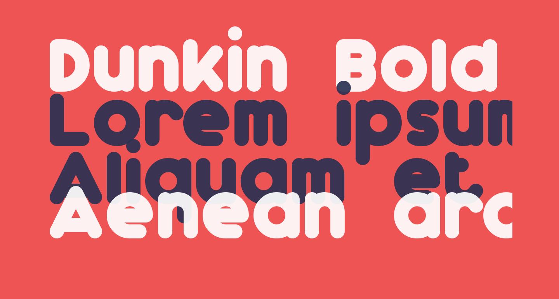 Dunkin Bold