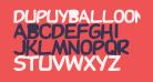 DupuyBALloon-Bold Bold