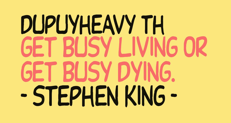DupuyHeavy Th