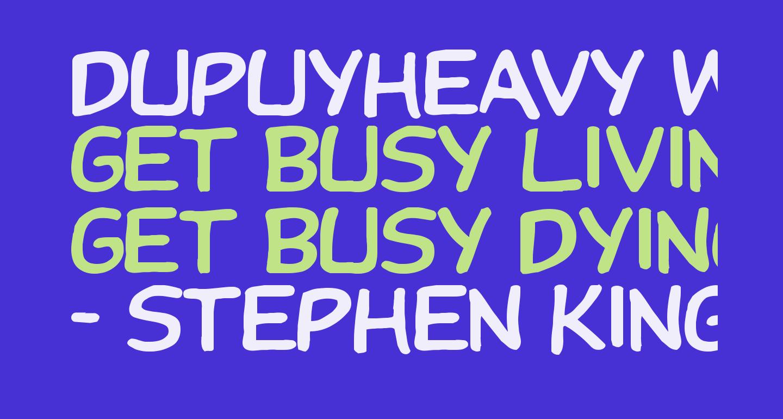 DupuyHeavy Wd