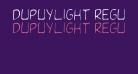 DupuyLight Regular
