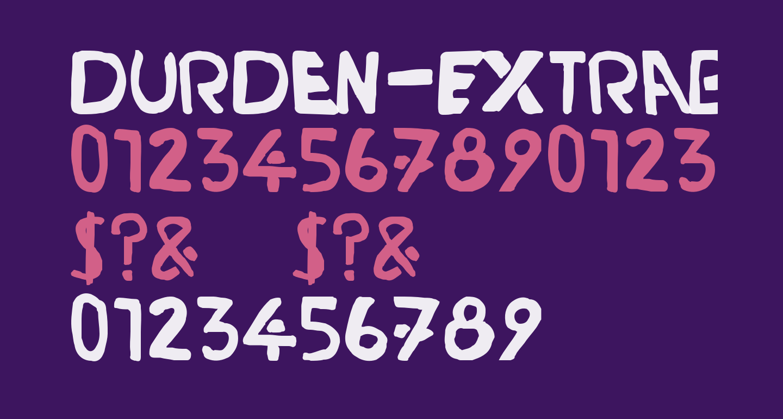 Durden-ExtraBold