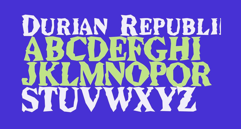 Durian Republik