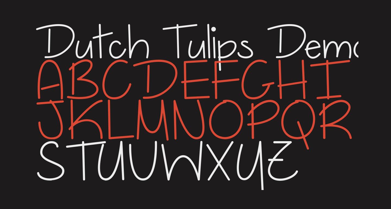 Dutch Tulips Demo