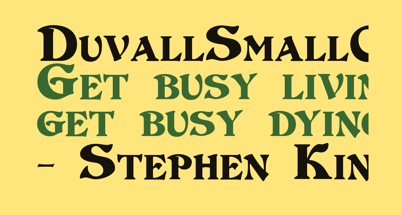 DuvallSmallCaps