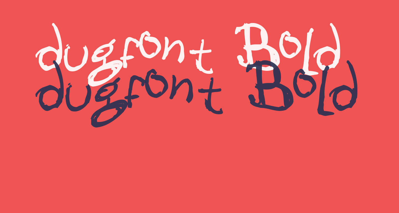 dugfont Bold