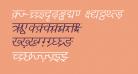 DV-TTYogesh Italic