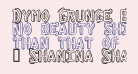 Dymo Grunge Bubble Extras