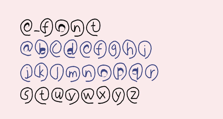 e-font