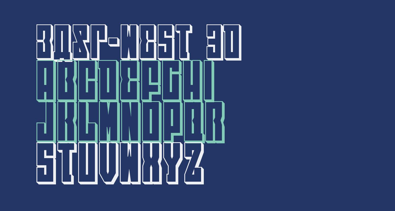 EAST-west 3D
