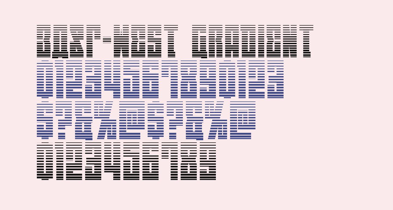 EAST-west Gradient