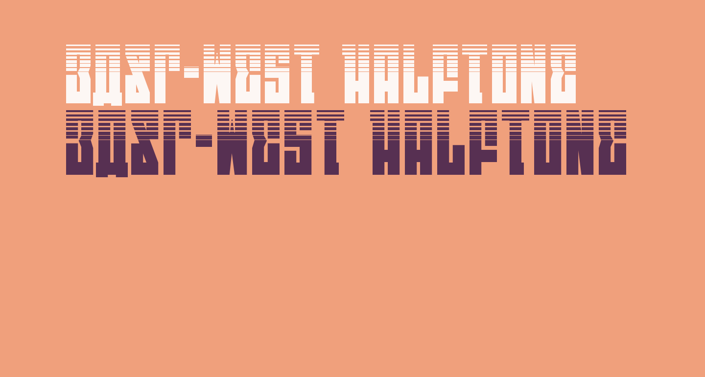 EAST-west Halftone