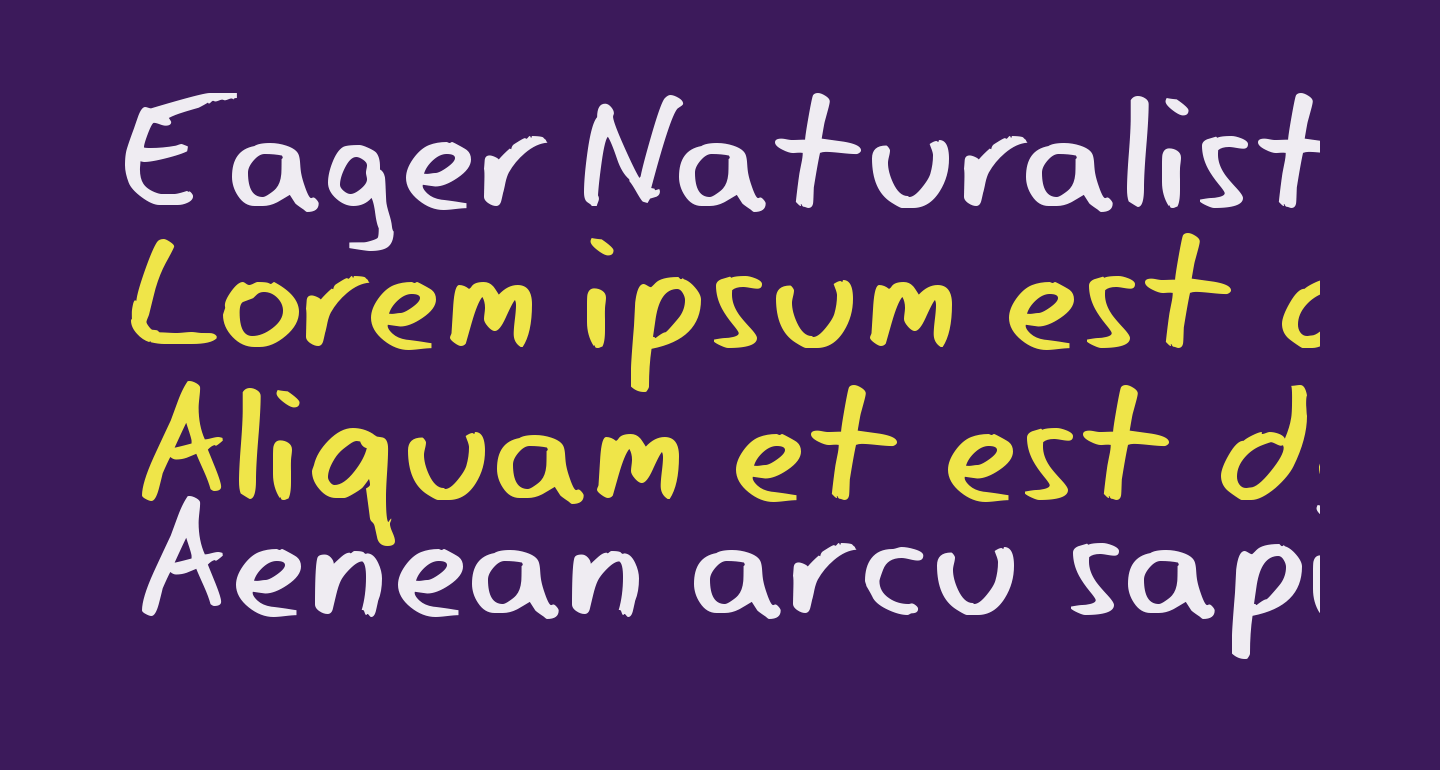 Eager Naturalist