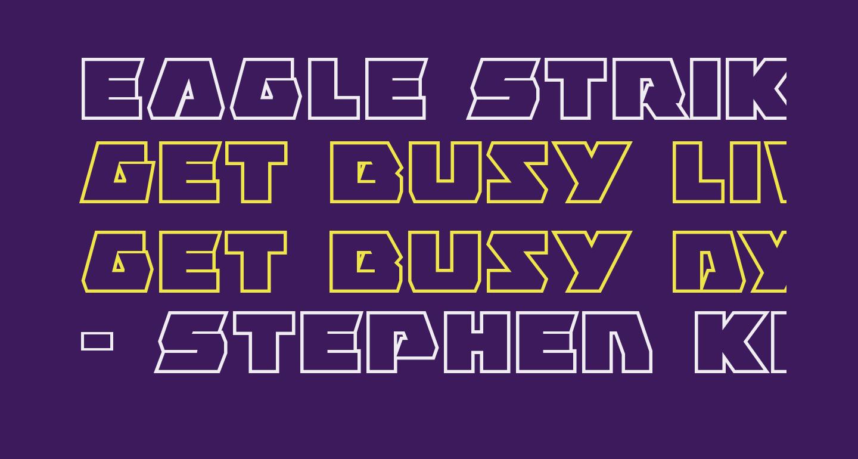 Eagle Strike Bold Outline