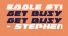 Eagle Strike Expanded Italic