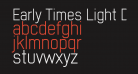 Early Times Light Demo