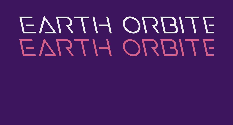 Earth Orbiter Leftalic