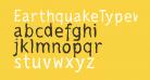 EarthquakeTypewriter