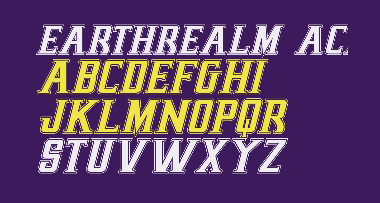 Earthrealm Academy Italic