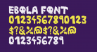 Ebola Font