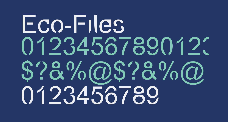 Eco-Files