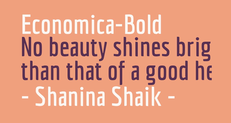 Economica-Bold