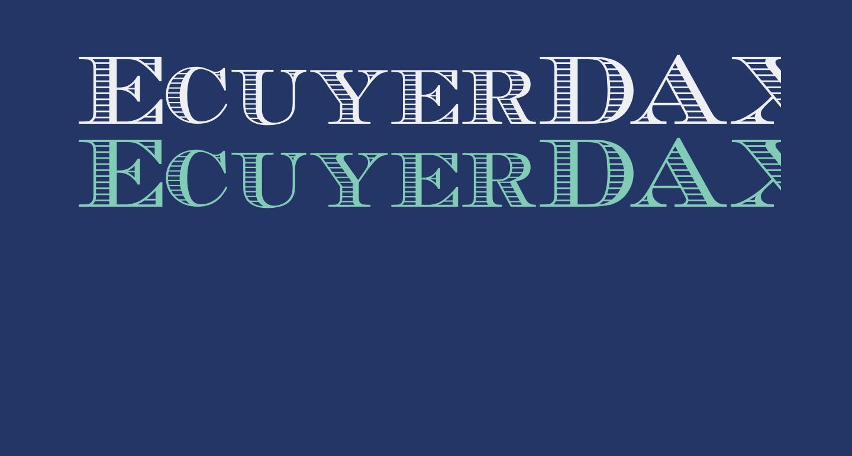 EcuyerDAX