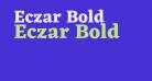 Eczar Bold