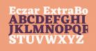 Eczar ExtraBold
