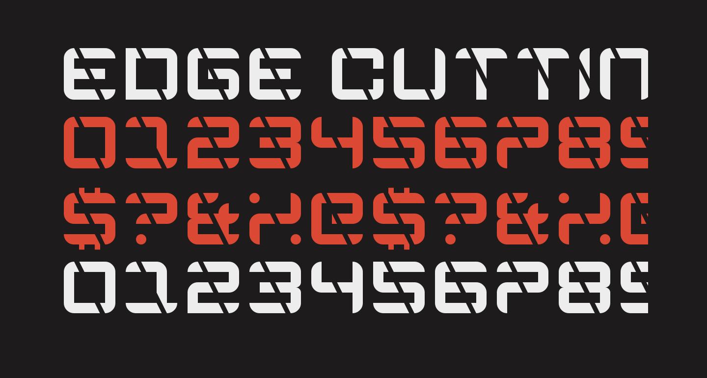Edge Cutting Regular