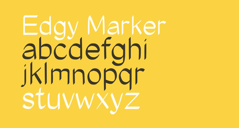 Edgy Marker