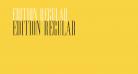 Edition Regular